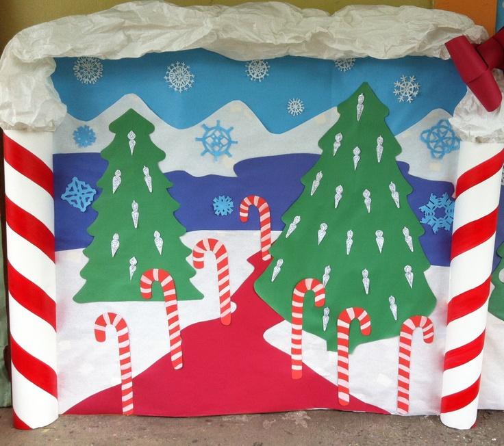 Christmas School decorations | School | Pinterest