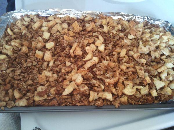 apple cinnamon granola   Food   Pinterest