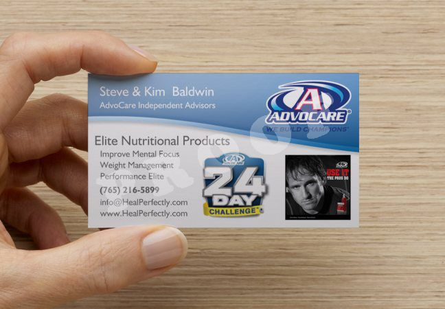 Business Cards AdvoCare submited images