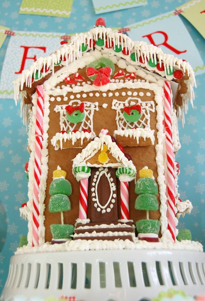 how to make gingerbread house | Christmas | Pinterest