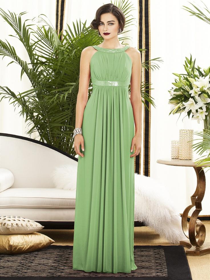 bridesmaid dress, apple slice color