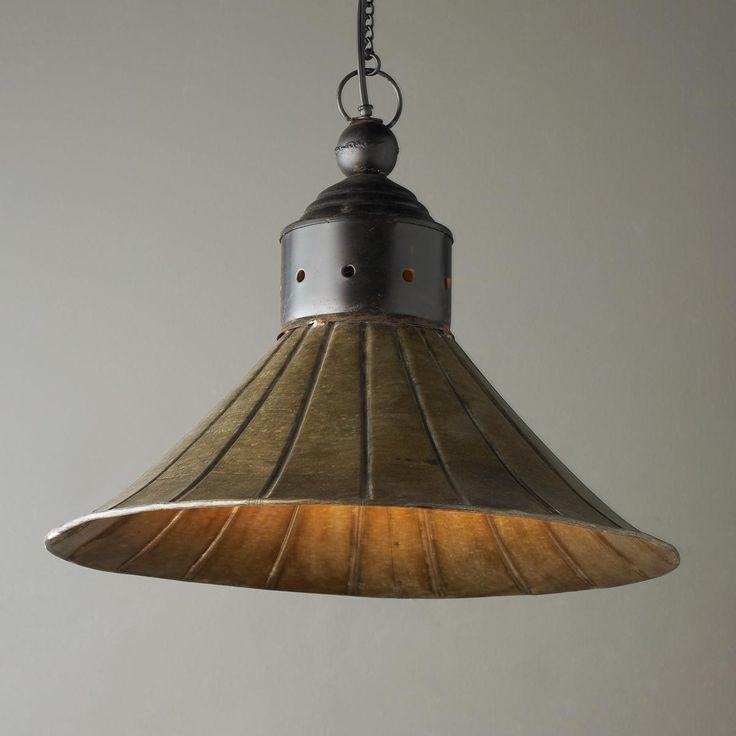 rustic barn pendant