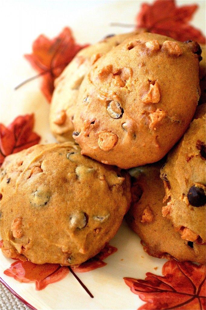 pumpkin cookies   Food   Pinterest