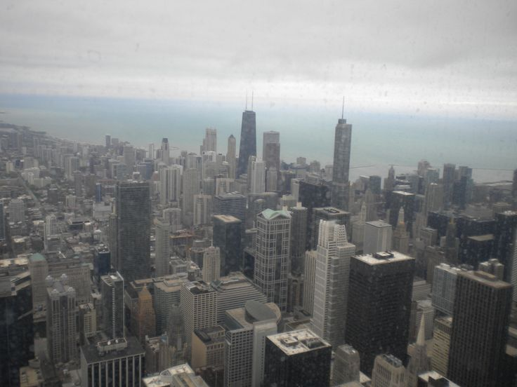 Top of sears tower