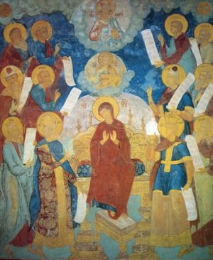 Акафист Пресвятой Богородице | Icons ...: pinterest.com/pin/163044448982836789