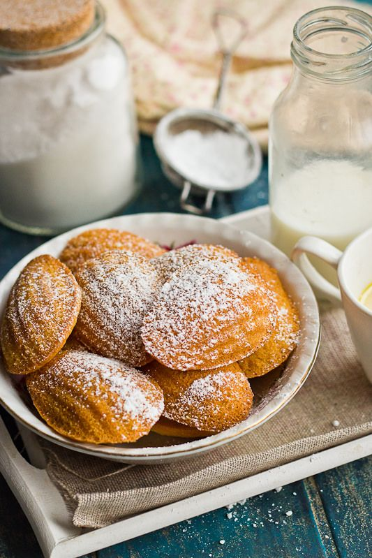 Madeleines with lemon | My food blog | Pinterest