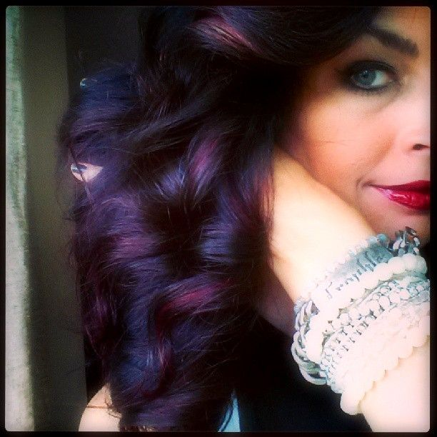 Dark Purple Hair Color Ideas Images & Pictures - Becuo