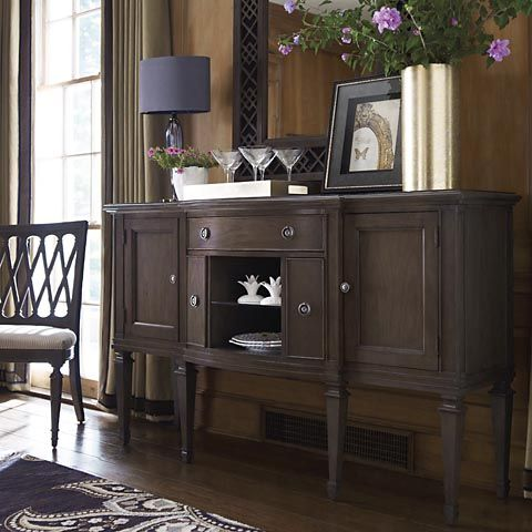 Sideboard dining room ideas pinterest for Dining room sideboard decorating ideas