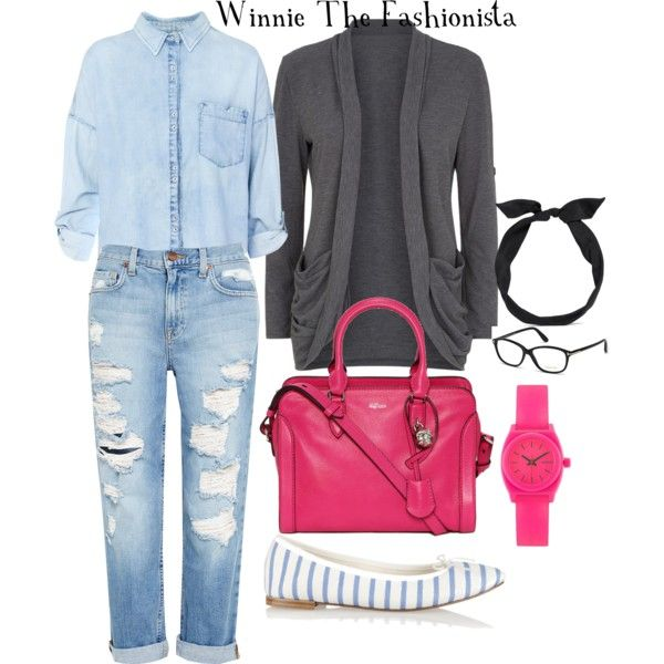 """CASUAL ANYONE?"" by winniethefashionista on Polyvore"