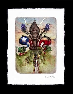 Louisiana artist Candice Alexander Fleur-de-Lis series