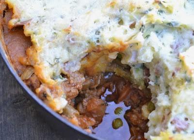 Root Vegetable Shepherd's Pie. Comfort Food that's good for you.