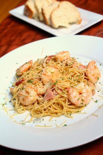 Shrimp Carbonara | Food Lover | Pinterest