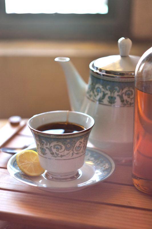 Tea, lemon and honey by daxxfbondoc | Tea Time | Pinterest
