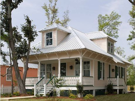 Katrina cottages plan 536 1 little houses pinterest for Katrina cottages pictures