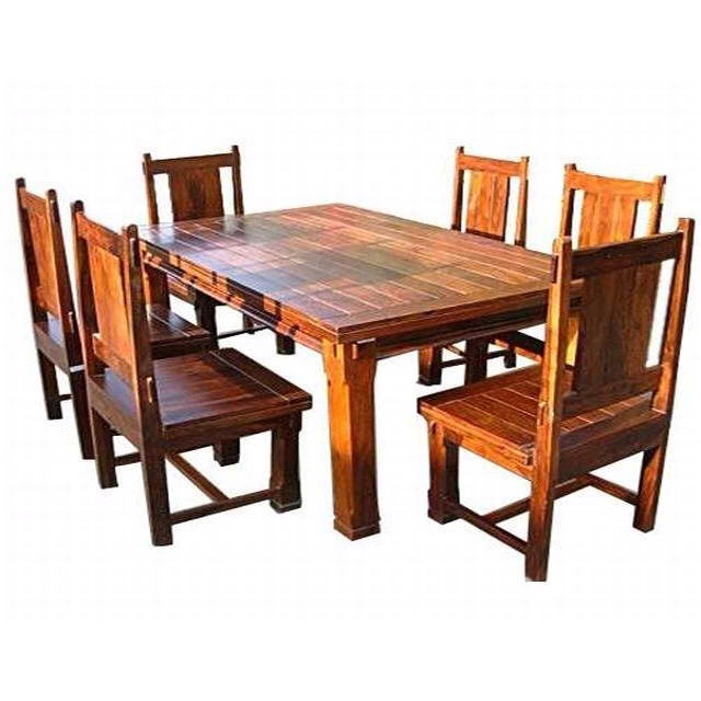 mission style dining room table for formal dining because i would