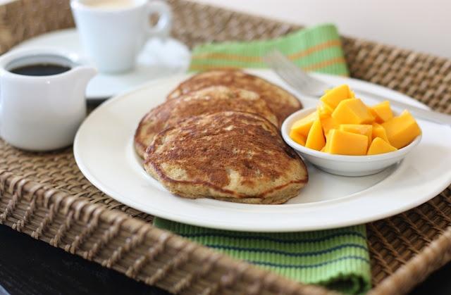 Coconut Milk Flap Jacks | Breakfast | Pinterest
