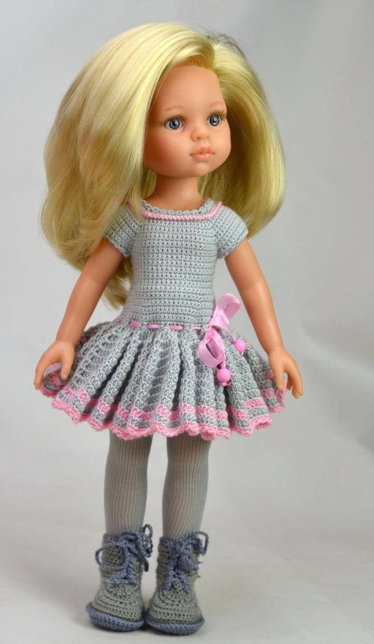 Вязание на куклу 32 см