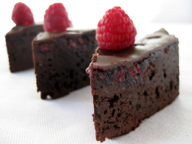 Raspberry Truffle Brownies | Chocolate Recipes | Pinterest