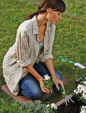 This spring, reduce stress and fatigue while planting your garden with the Wellness Companion Mat.