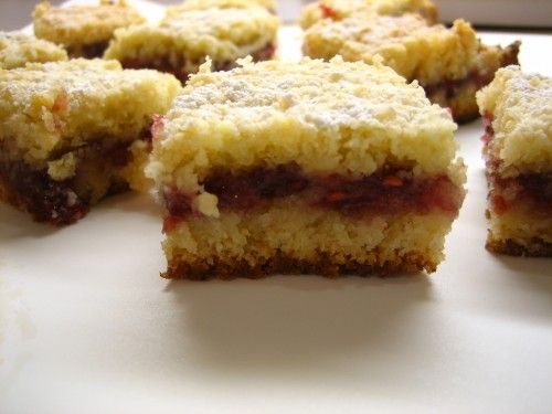 Lydia's Austrian Raspberry Shortbread « Cate's World Kitchen