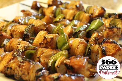 Yummy Honey Chicken Kabobs | Food~Chicken | Pinterest