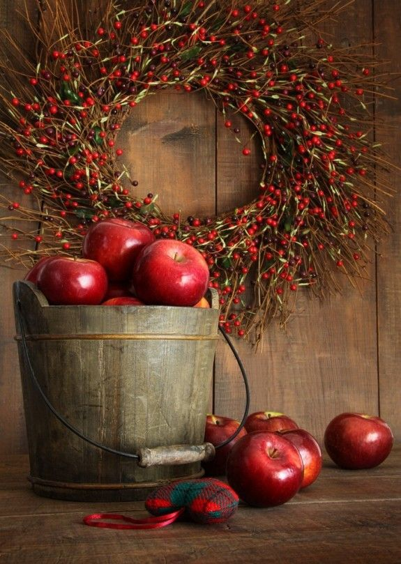seasonalwonderment:  Autumn Apple Harvest