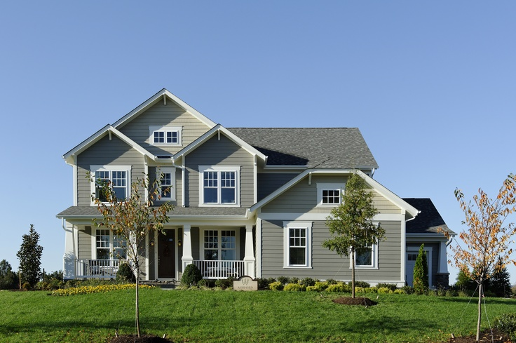 Beazer Homes Model At Willowsford Inspired Exteriors Pinterest