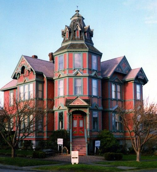 Victorian Painted Lady. | Dream Home | Pinterest