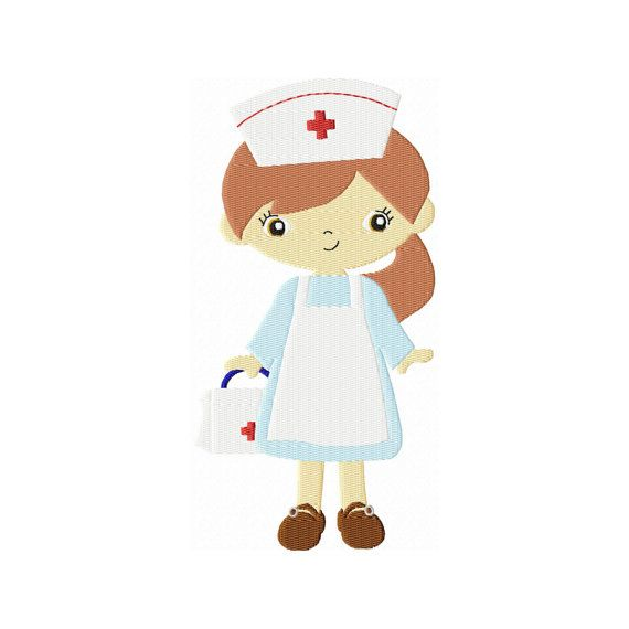 Instant Download 4X4 Nurse Embroidery by BreezyLaneEmbroidery, $2.99