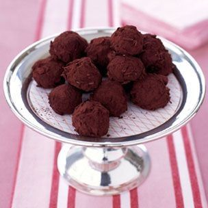 Luscious hazelnut truffles from The Chocolate Deck by Lori Longbotham