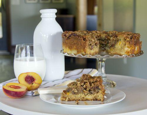 Jack Daniel's Chocolate Chip-Praline Cake Recipe — Dishmaps