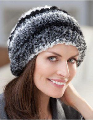 Simple Hat Knitting Pattern In The Round : Quick and Easy in the Round Hat Knit and crochet Pinterest