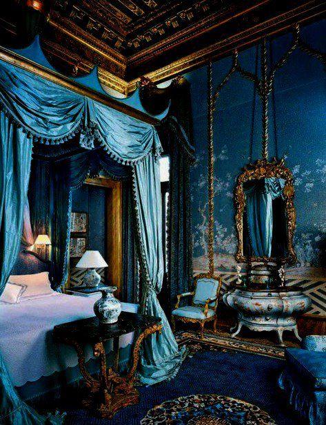 A Vampire's bedroom | Delectably Dark | Pinterest