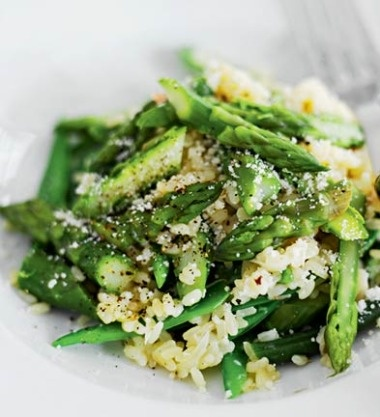 Asparagus risotto | Favorite Recipes | Pinterest
