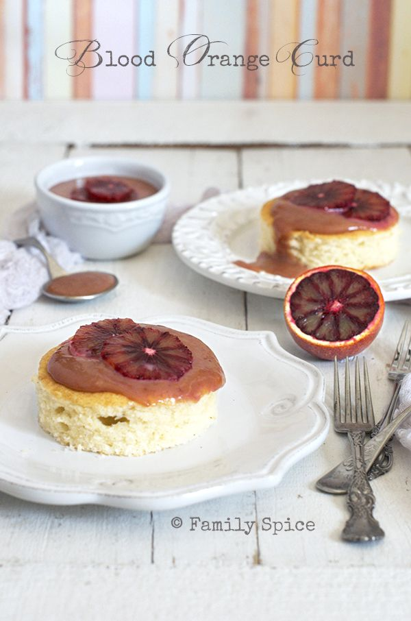 Touch of Sweet: Blood Orange Curd