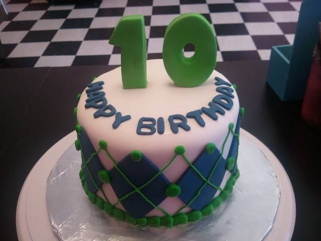 10th birthday cake ideas for boys