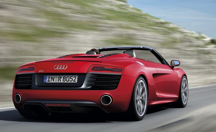 audi r8 cabrio deautos sal n de par s 2012 pinterest. Black Bedroom Furniture Sets. Home Design Ideas