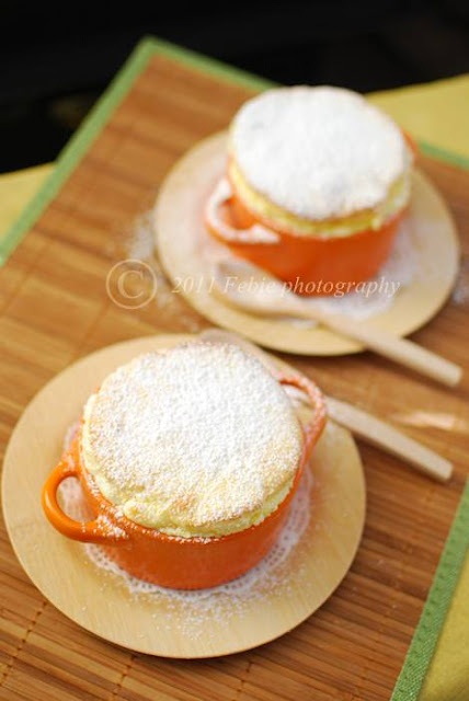 Lemon Souffles | Food: A girl's got to eat ... and drink | Pinterest