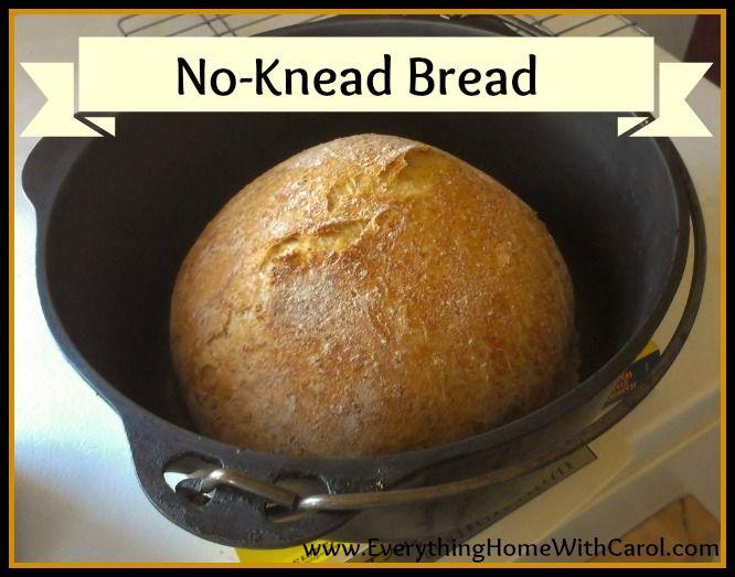 no knead bread | Bread~~Yeast | Pinterest
