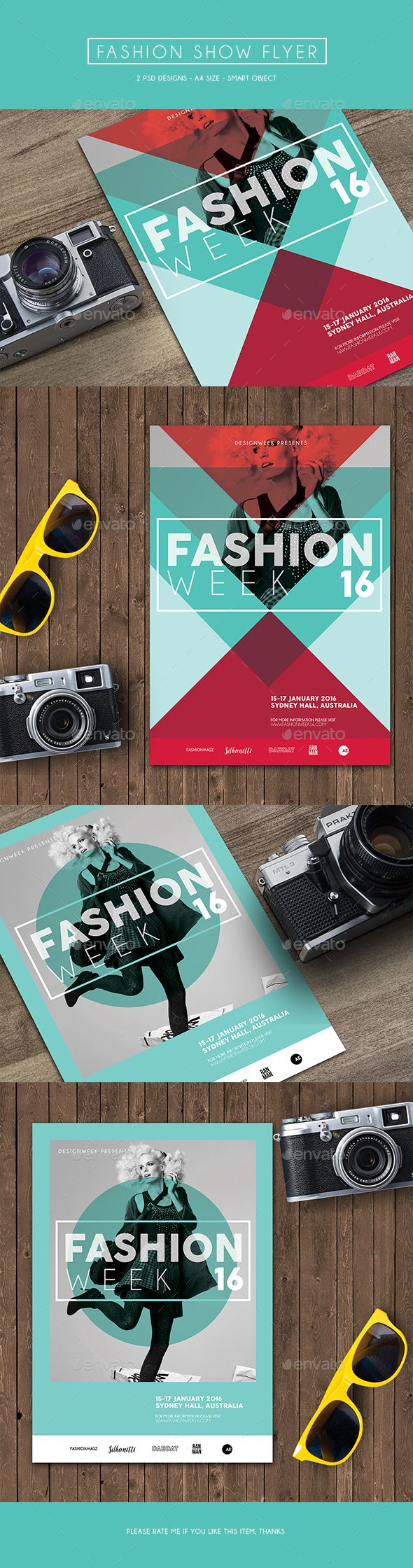 Fashion show flyer templates 74