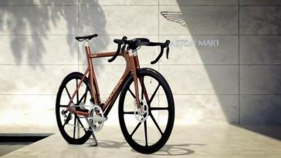 Aston Martin's Edición Limitada |Bicicleta One-77.-
