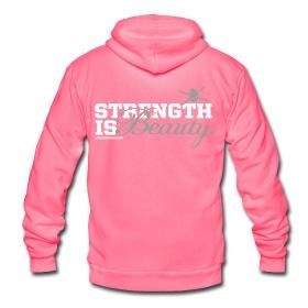 Strength is beauty hoodie ~ 1534. WANT! | Gymnastics | Pinterest
