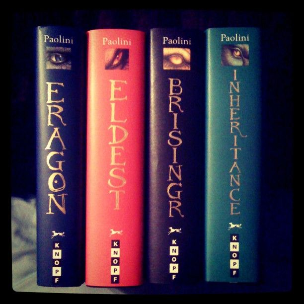 I enjoyed the Inheritance Cycle. Watched the author, Christopher Paolini, grow up as he wrote.