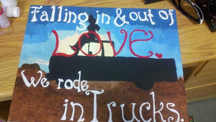 Rode in Trucks
