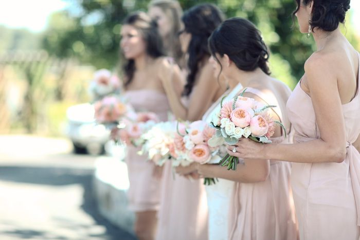 Light pink and peonies...this can probably sum up my wedding!