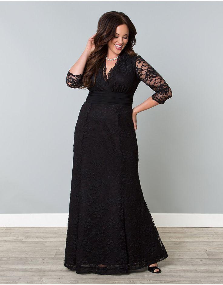 Screen siren lace gown lane bryant dress pinterest for Lane bryant wedding dress