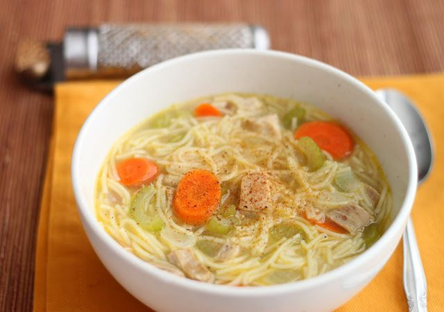 Turkey Noodle Soup, and Homemade Stock | SOUPS | Pinterest