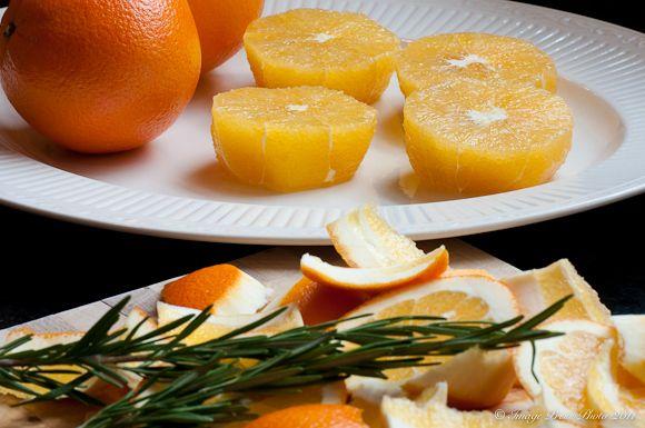 Burnt Oranges with Rosemary | Recipe