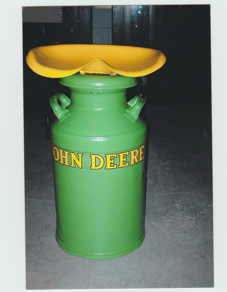 Milk Can Tractor Seat Milk Cans Pinterest