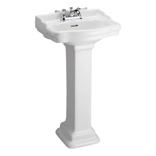 18 Pedestal Sink : ... Pedestal Sink Barclay Products Pedestal Bathroom Sinks Bath $256 18.25